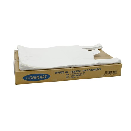 LIONHEART - CARRIERS BAGS - 100 PACK