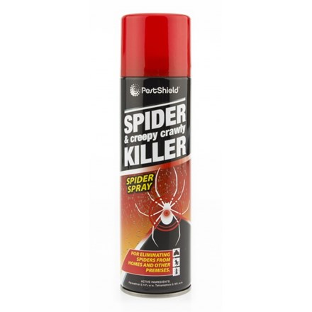 SPIDER & CREEPY CRAWLY KILLER SPRAY - 200ML