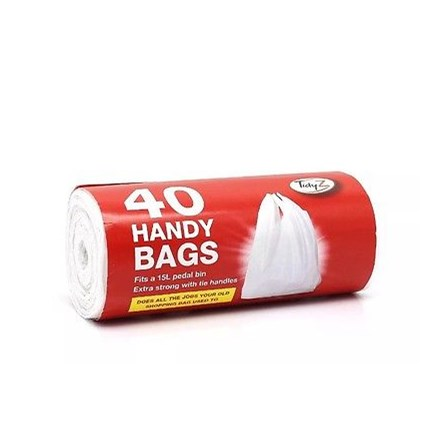 TIDYZ - HANDY BAGS - 40 PACK