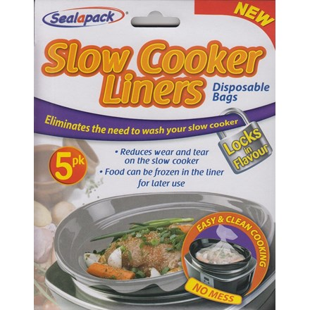 SEALAPACK - SLOW COOKER LINERS - 5 PACK