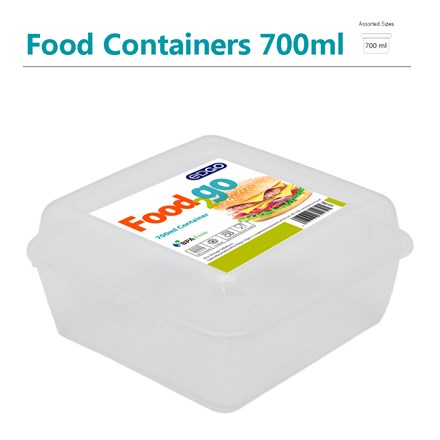 EDGO - FOOD2GO SANDWICH BOX FOOD CONTAINER