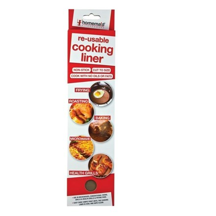 REUSABLE COOKING LINER SHEETS