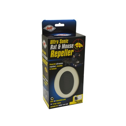 DOFF - ULTRA SONIC RAT AND MOUSE REPELLER - LARGE