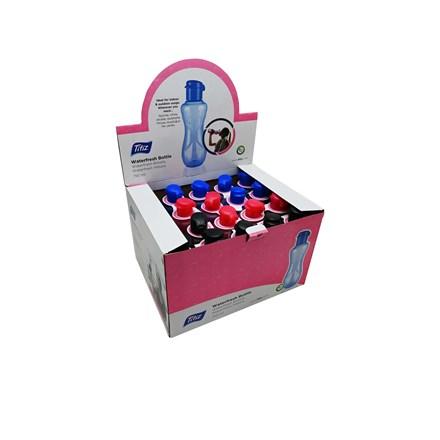 TITIZ BPA FREE PLASTIC WATER BOTTLE - 750ML-3ASST