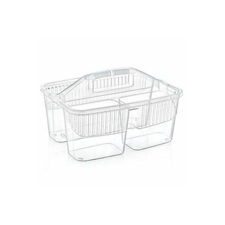 HOBBY  CLEANER BASKET - TRANSPARENT