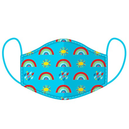 REUSABLE FACE MASK - RAINBOW - SMALL SIZE
