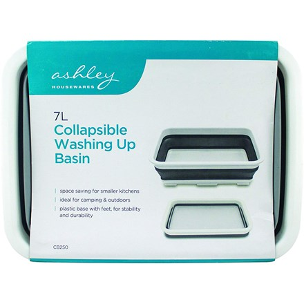 ASHLEY - COLLAPSIBLE BASIN 7L