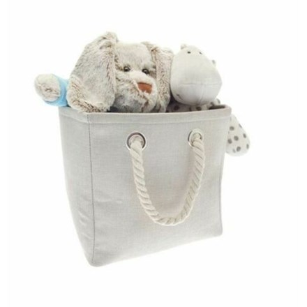 COLLAPSIBLE STORAGE BAG - CREAM