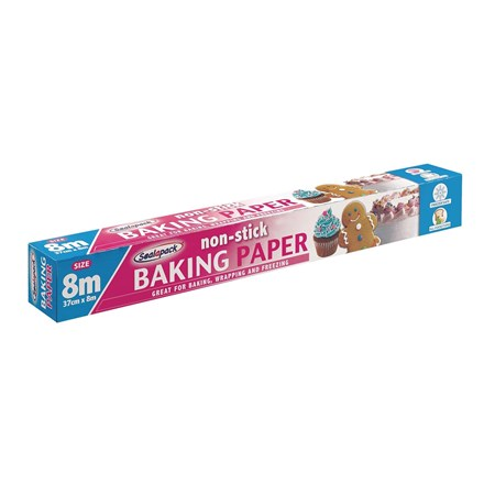 SEALAPACK - BAKING PAPER ROLL - 8M