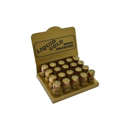 ROOM ODOURISER LIQUID GOLD - 20 BOTTLE TRAY