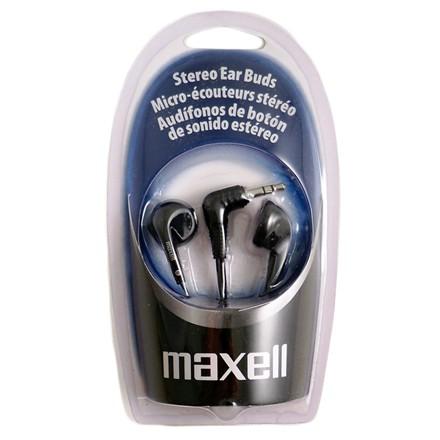 MAXELL - EB98 BLACK EARPHONES