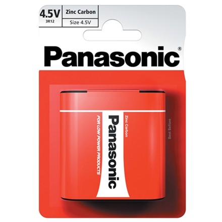 PANASONIC 3R12 4.5V - SINGLE PACK
