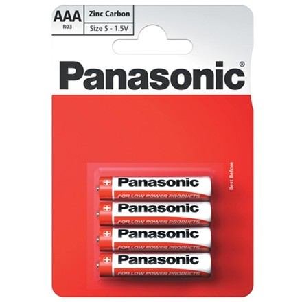 PANASONIC AAA - 4 PACK