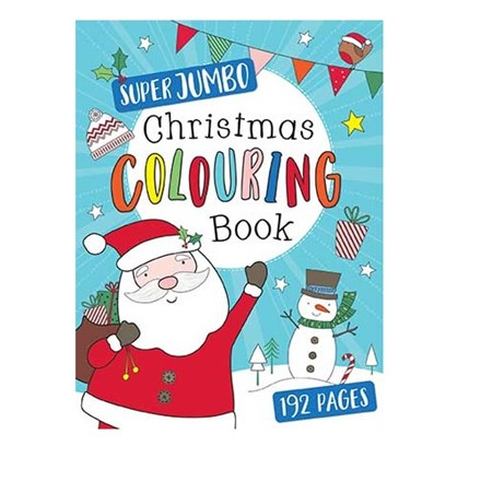 CHRISTMAS SUPER JUMBO COLOURING BOOK