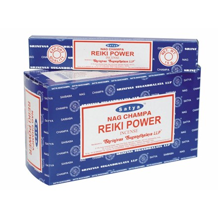 SATYA - REIKI POWER INCENSE STICKS - 12X15G