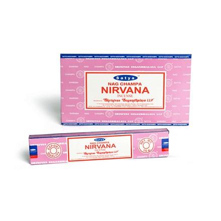 SATYA - NIRVANA INCENSE STICKS - 12X15G