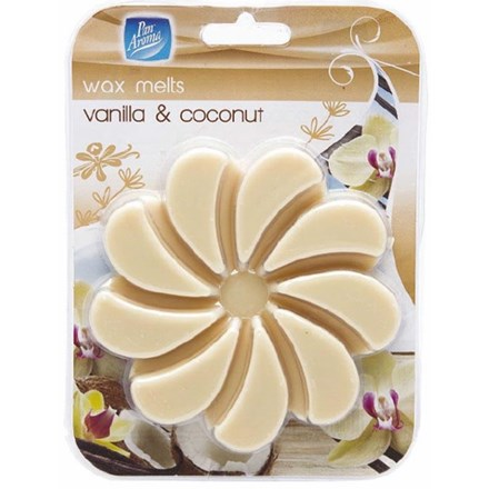 PAN AROMA WAX MELT - VANILLA AND COCONUT - 85G