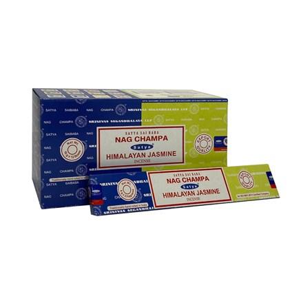 SATYA COMBO - NAG CHAMPA+HIMALAYAN JASMINE-12 PACK