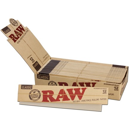 RAW SUPER NATURAL PAPERS 12 INCH