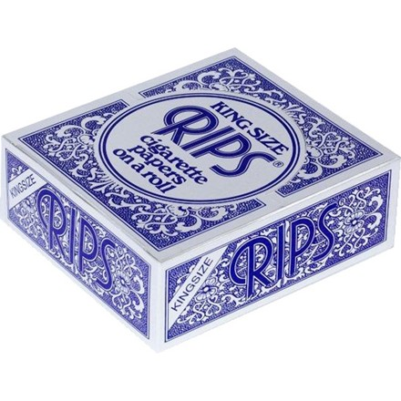 RIPS BLUE KING SIZE PAPERS ON A ROLL - 24 PACK