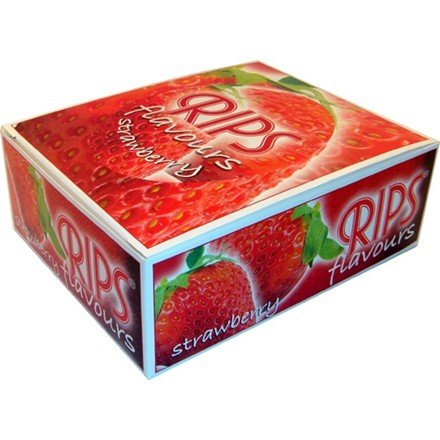 RIPS STRAWBERRY FLAVOURED PAPERS - 24 PACK