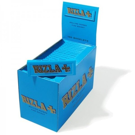 RIZLA BLUE REGULAR SIZE PAPERS - 100 PACK