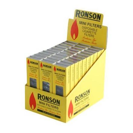 RONSON MINI FILTERS - 30 PACK