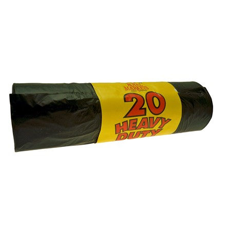 ROYAL MARKETS REFUSE SACKS - 20 PACK