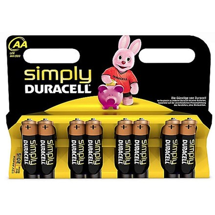 DURACELL SIMPLY AA - 8 PACK