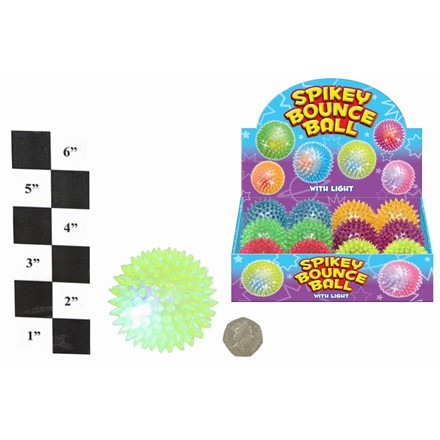 SPIKEY BOUNCY BALL