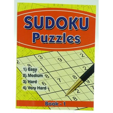 SUDOKU PUZZLE BOOK A4