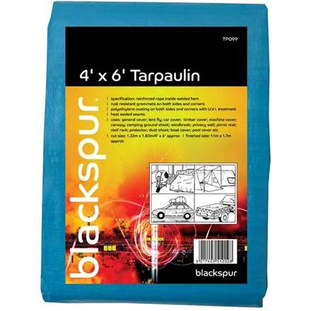 BLACKSPUR - TARPAULIN - 4' X 6'