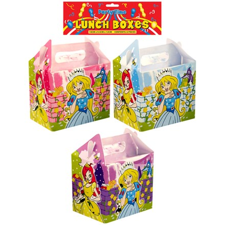 LUNCH BOX PRINCESS - 6 PACK