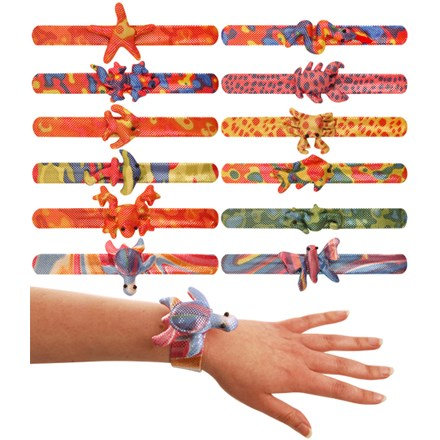 BRACELET SNAP ANIMAL - 12 PACK
