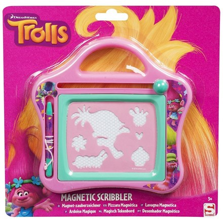 DREAMWORKS TROLLS SMALL MAGNETIC SCRIBBLER