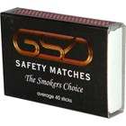 GSD SAFETY MATCHES - 100 PACK
