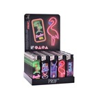 PROF - NEONS ELECTRONIC LIGHTER - 50 PACK