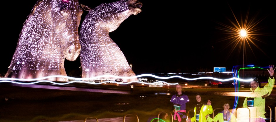Helix Park and The Kelpies, Saturday and Sunday 12th/13th November 2016