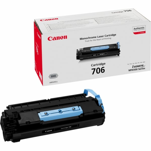Canon 0264B002 (706) Toner black, 5K pages @ 5% coverage