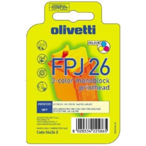Olivetti 84436 (FPJ 26) Ink cartridge color, 150 pages