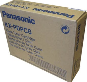 Panasonic KX-PDPC6 Toner cyan, 10K pages