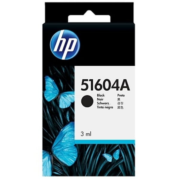 HP 51604A Printhead black, 500 pages, 3ml