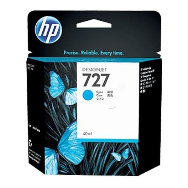 HP B3P13A (727) Ink cartridge cyan, 40ml