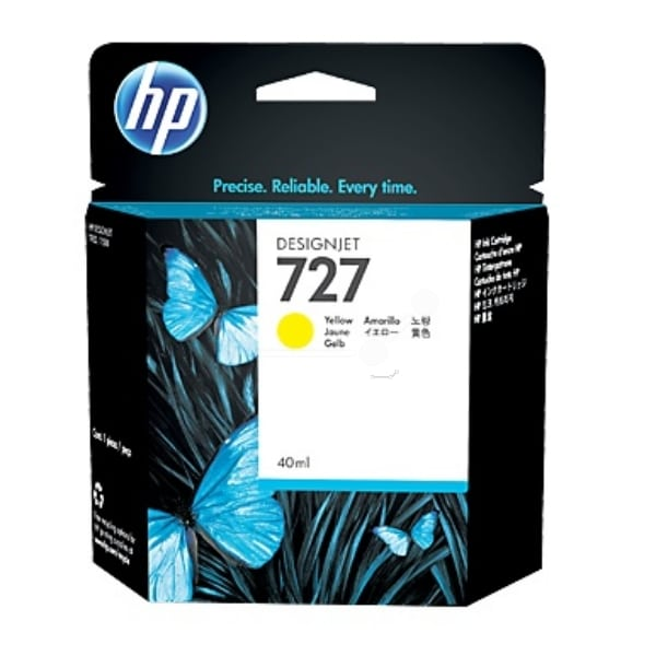 HP B3P15A (727) Ink cartridge yellow, 40ml
