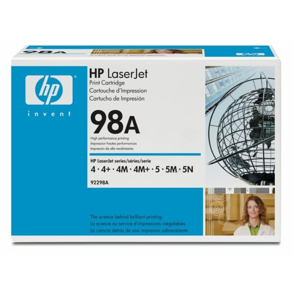 HP 92298A (98A) Toner black, 6.8K pages
