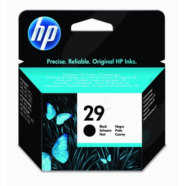 HP 51629AE (29) Printhead black, 650 pages, 40ml