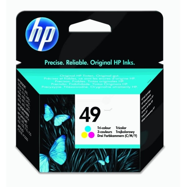 HP 51649NE (49) Printhead color, 170 pages, 11ml