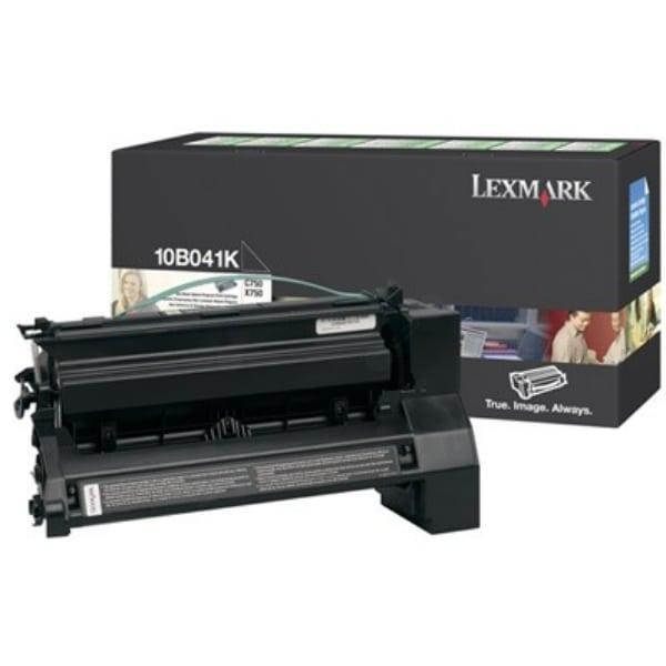 Lexmark 10B041K Toner black, 6K pages @ 5% coverage