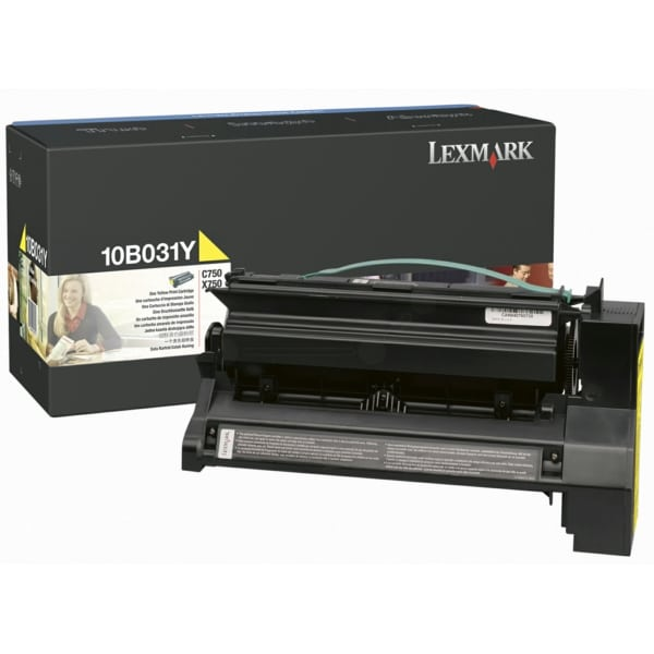 Lexmark 10B031Y Toner yellow, 6K pages @ 5% coverage