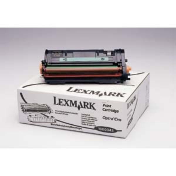 Lexmark 10E0043 Toner black, 10K pages @ 5% coverage